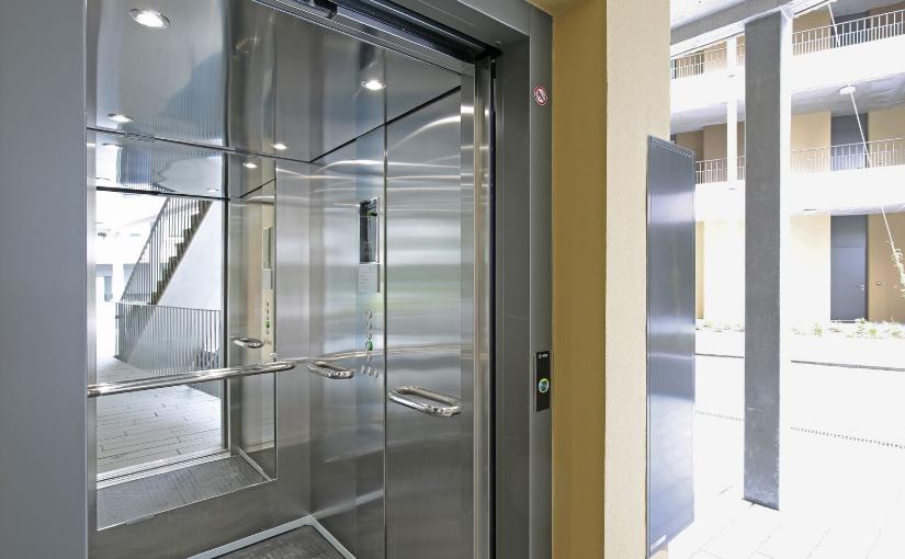 Personenlift von der Lift AG für einen besseren Lebensstandard