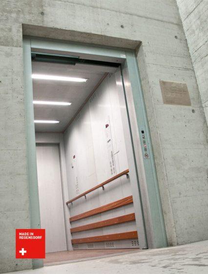 Schweizer Produkt und Schweizer Qualität - Warenlift der Lift AG
